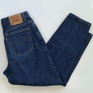 Levi's 550 Tapered High Rise Jeans 14 MIS